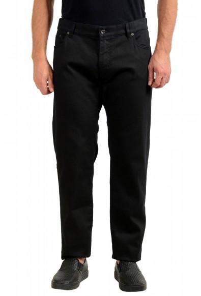 Dolce & Gabbana Men's Black Stretch Straight Leg Jeans