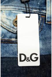 Dolce & Gabbana D&G Men's Multi-Color Straight Leg Jeans: Picture 4