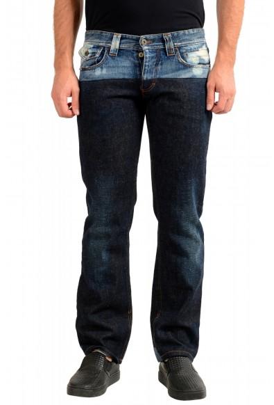 Dolce & Gabbana D&G Men's Multi-Color Straight Leg Jeans