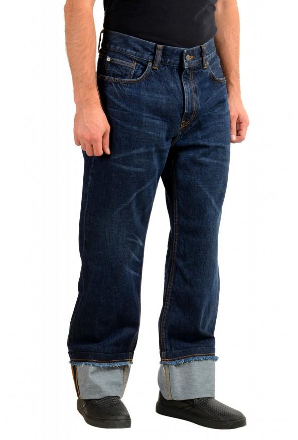 "Burberry Men's ""Workwear"" Dark Blue Straight Leg Jeans : Picture 2"