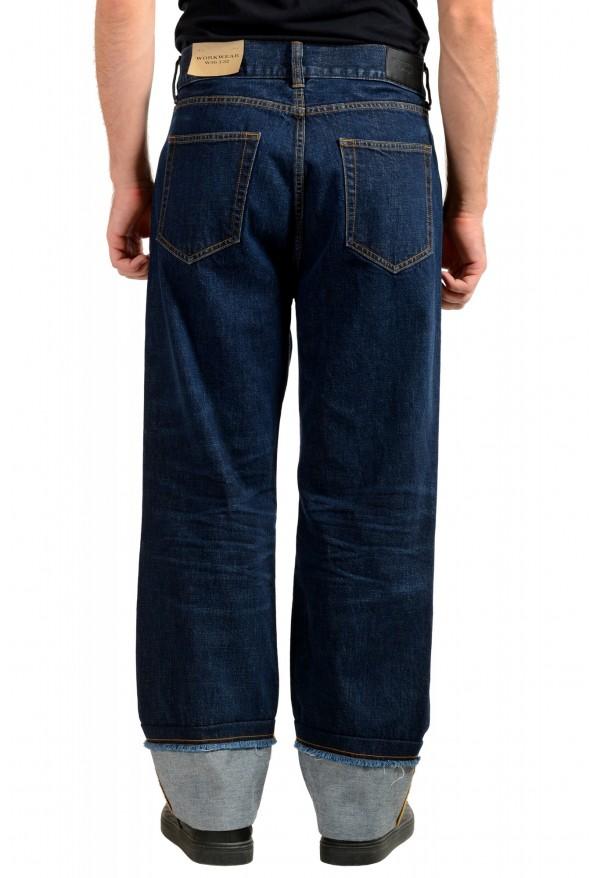 "Burberry Men's ""Workwear"" Dark Blue Straight Leg Jeans : Picture 3"