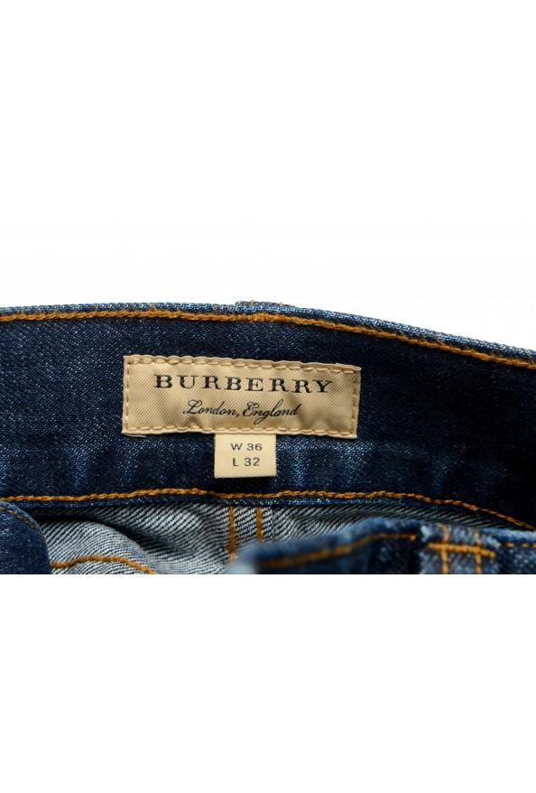 "Burberry Men's ""Workwear"" Dark Blue Straight Leg Jeans : Picture 5"