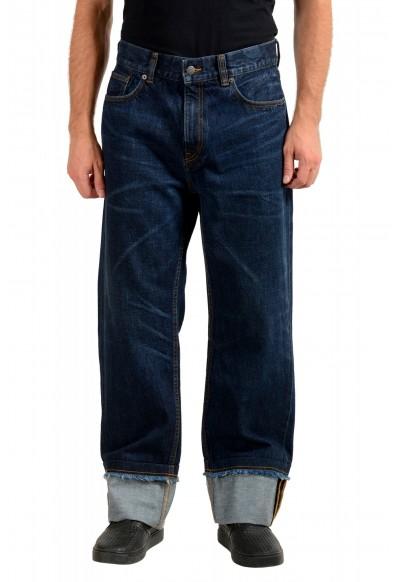 "Burberry Men's ""Workwear"" Dark Blue Straight Leg Jeans"