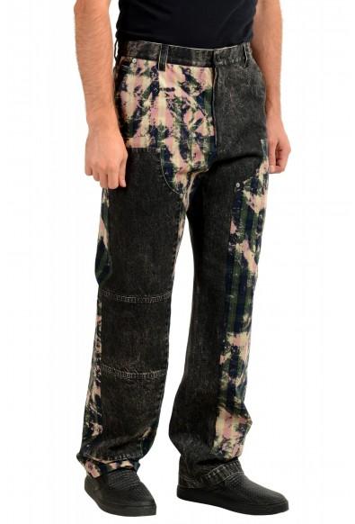 "Versace Men's ""HERITAGE"" Multi-Color Denim Casual Pants : Picture 2"