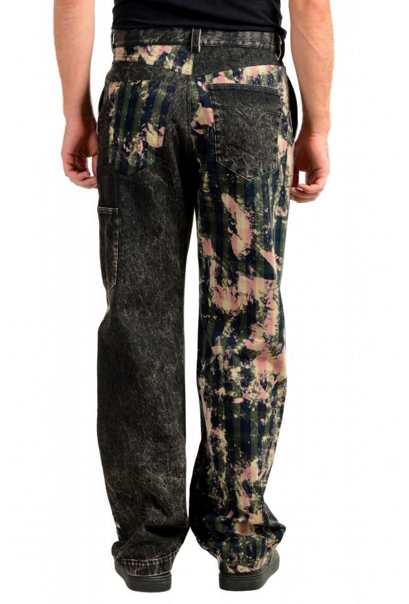 "Versace Men's ""HERITAGE"" Multi-Color Denim Casual Pants : Picture 3"