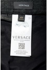 "Versace Men's ""HERITAGE"" Multi-Color Denim Casual Pants : Picture 4"