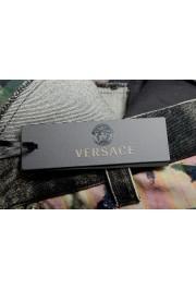 "Versace Men's ""HERITAGE"" Multi-Color Denim Casual Pants : Picture 5"