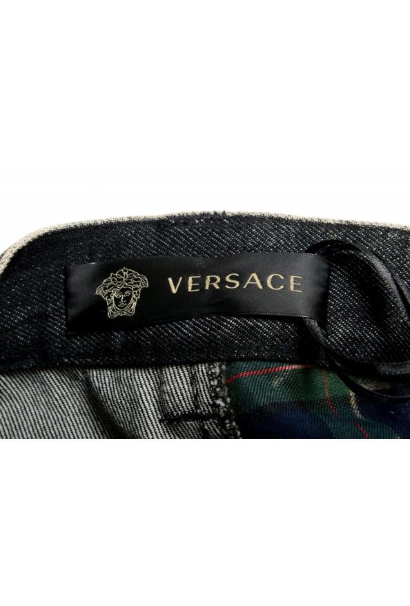 "Versace Men's ""HERITAGE"" Multi-Color Denim Casual Pants : Picture 6"