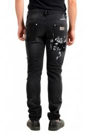 "Just Cavalli Men's ""Slim"" Multi-Color Distressed Look Jeans : Picture 3"