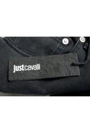 "Just Cavalli Men's ""Slim"" Multi-Color Distressed Look Jeans : Picture 4"