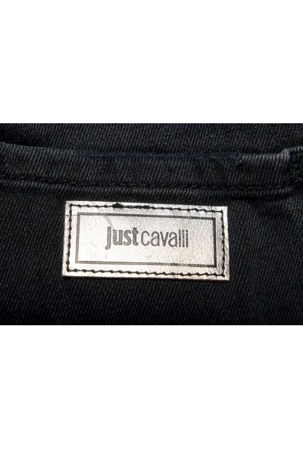 "Just Cavalli Men's ""Slim"" Multi-Color Distressed Look Jeans : Picture 6"