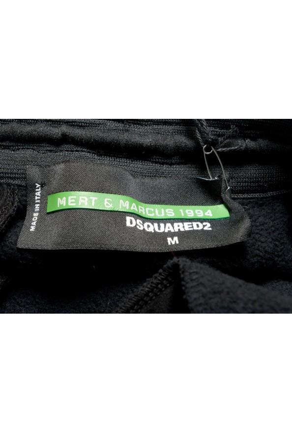 "Dsquared2 & ""Mert & Marcus 1994"" Men's Black Sweatpants: Picture 4"