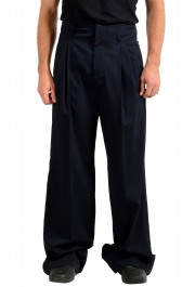 "Dsquared2 & ""Mert & Marcus 1994"" Men's Navy Blue 100% Wool Pants"