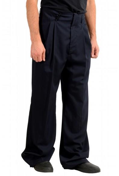 "Dsquared2 & ""Mert & Marcus 1994"" Men's Navy Blue 100% Wool Pants: Picture 2"
