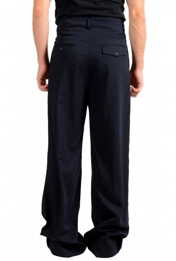 "Dsquared2 & ""Mert & Marcus 1994"" Men's Navy Blue 100% Wool Pants: Picture 3"