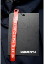 "Dsquared2 & ""Mert & Marcus 1994"" Men's Navy Blue 100% Wool Pants: Picture 4"