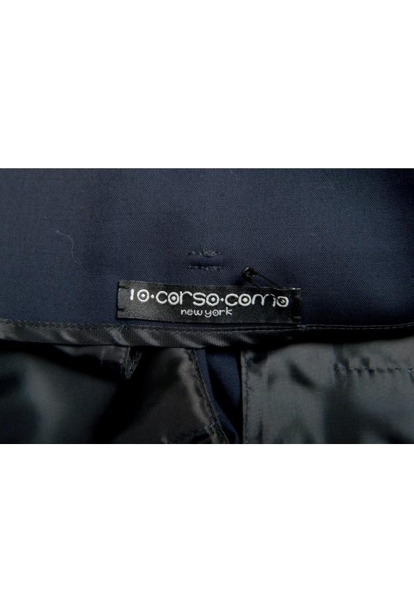 "Dsquared2 & ""Mert & Marcus 1994"" Men's Navy Blue 100% Wool Pants: Picture 5"