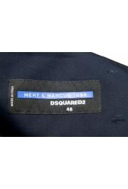 "Dsquared2 & ""Mert & Marcus 1994"" Men's Navy Blue 100% Wool Pants: Picture 6"