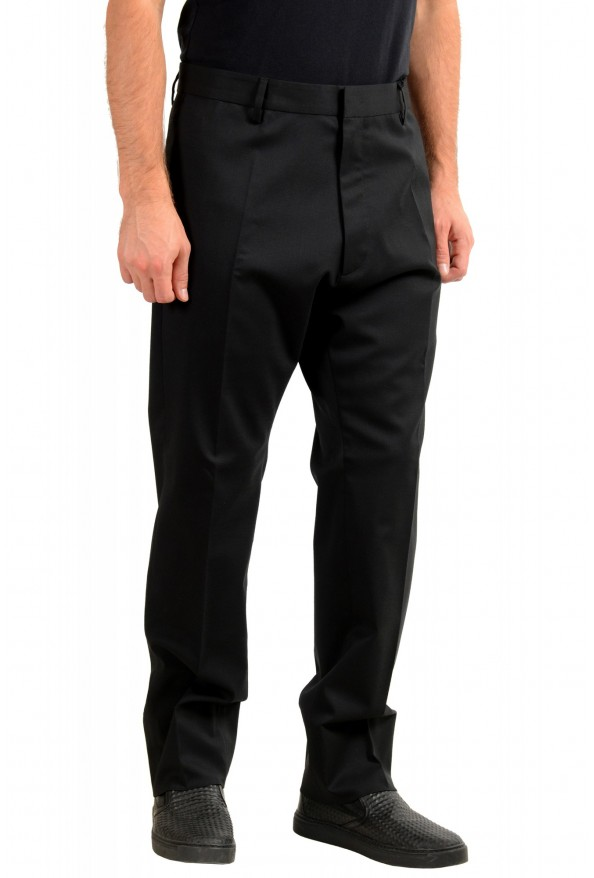 "Dsquared2 Men's ""Run Dan Fit"" Black Wool Dress Pants: Picture 2"