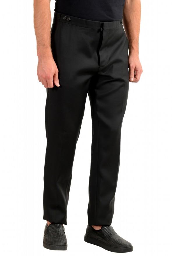 "Dsquared2 Men's ""London Fit"" Black Wool Silk Dress Pants : Picture 2"