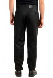 "Dsquared2 Men's ""London Fit"" Black Wool Silk Dress Pants : Picture 3"