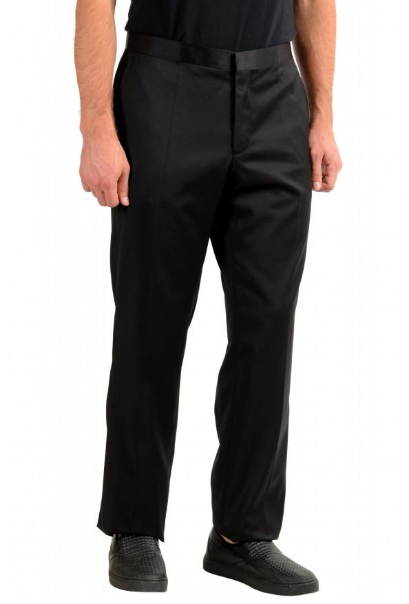 "Hugo Boss Men's ""Housten/Glorious"" Black 100% Wool Dress Pants: Picture 2"
