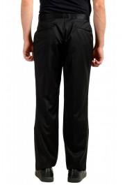 "Hugo Boss Men's ""Housten/Glorious"" Black 100% Wool Dress Pants: Picture 3"