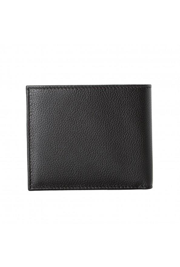 Salvatore Ferragamo Men's Dark Brown Pebbled Leather Bifold Wallet: Picture 5