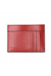 Salvatore Ferragamo Unisex 100% Leather Black Credit Card Case: Picture 2
