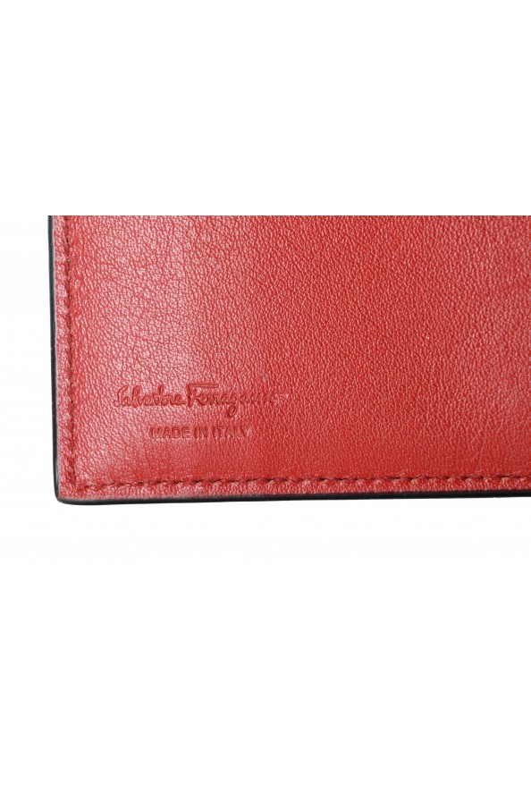 Salvatore Ferragamo Unisex 100% Leather Black Credit Card Case: Picture 3