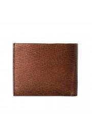 Salvatore Ferragamo Men's Logo Bronze 100% Textured Leather Bifold Wallet: Picture 5