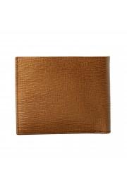 Salvatore Ferragamo Men's Logo Light Bronze 100% Textured Leather Bifold Wallet: Picture 5