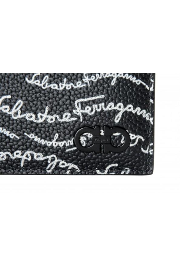 Salvatore Ferragamo Men's Logo Light 100% Textured Leather Bifold Wallet: Picture 2