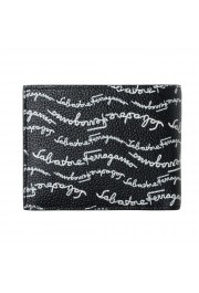 Salvatore Ferragamo Men's Logo Light 100% Textured Leather Bifold Wallet: Picture 4