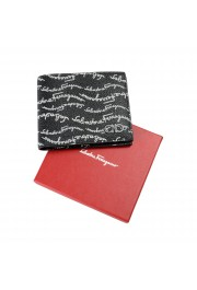 Salvatore Ferragamo Men's Logo Light 100% Textured Leather Bifold Wallet: Picture 5