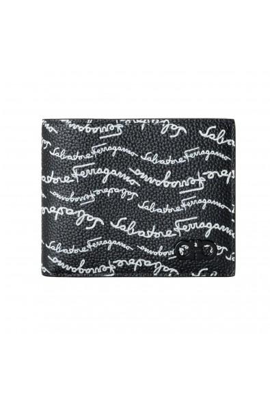 Salvatore Ferragamo Men's Logo Light 100% Textured Leather Bifold Wallet