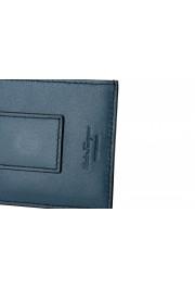 Salvatore Ferragamo Men's 100% Textured Leather Credit Card Case Money Clip: Picture 4