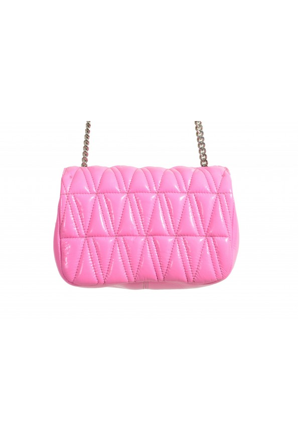 Versace Women's Pink Virtus Quilted Leather Evening Bag: Picture 4
