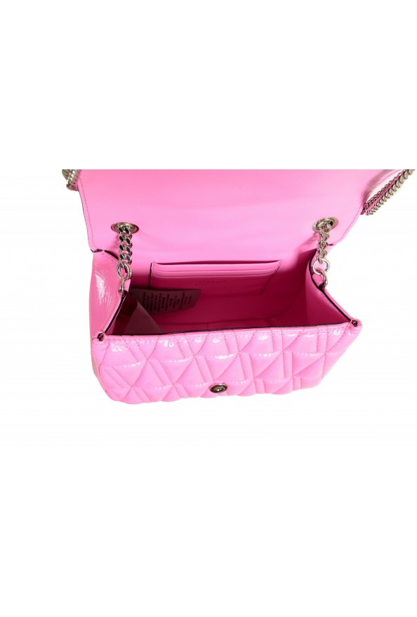 Versace Women's Pink Virtus Quilted Leather Evening Bag: Picture 5