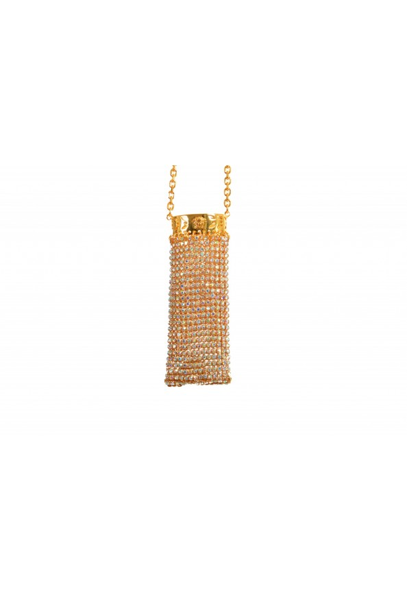 "Versace Women's ""Oro Tribute"" Medusa Logo Sparkle Miniature Bag: Picture 3"