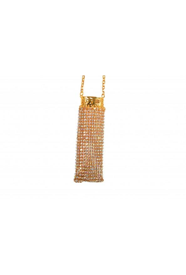 "Versace Women's ""Oro Tribute"" Medusa Logo Sparkle Miniature Bag: Picture 4"