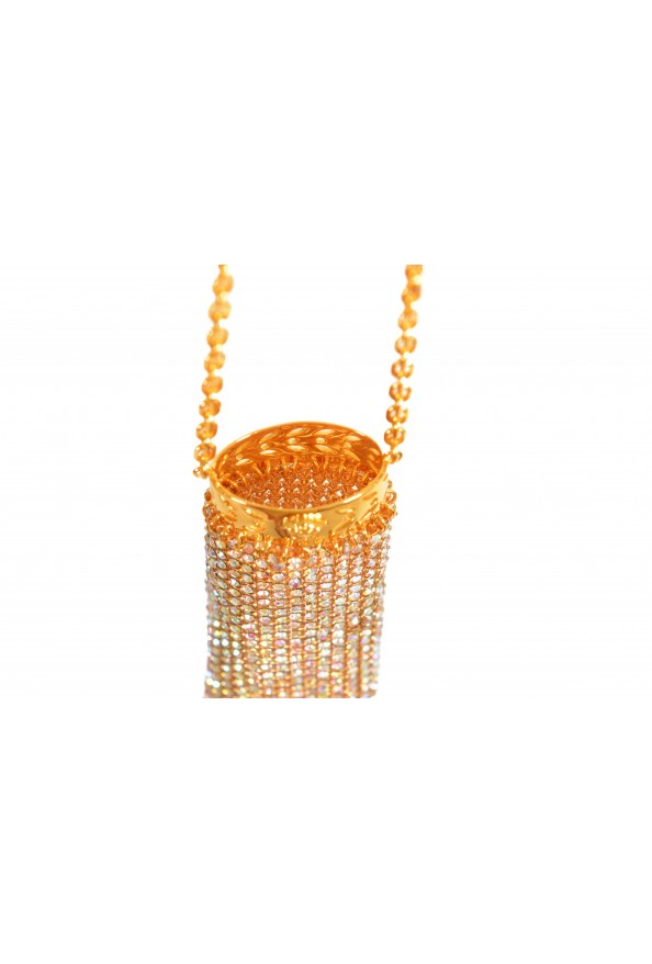 "Versace Women's ""Oro Tribute"" Medusa Logo Sparkle Miniature Bag: Picture 5"