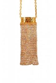 "Versace Women's ""Oro Tribute"" Medusa Logo Sparkle Miniature Bag: Picture 6"