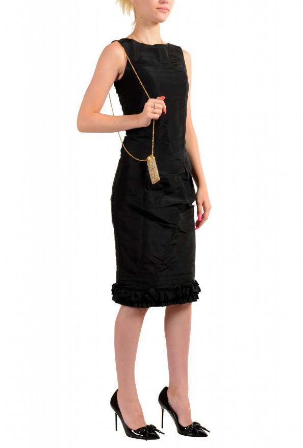 "Versace Women's ""Oro Tribute"" Medusa Logo Sparkle Miniature Bag: Picture 7"