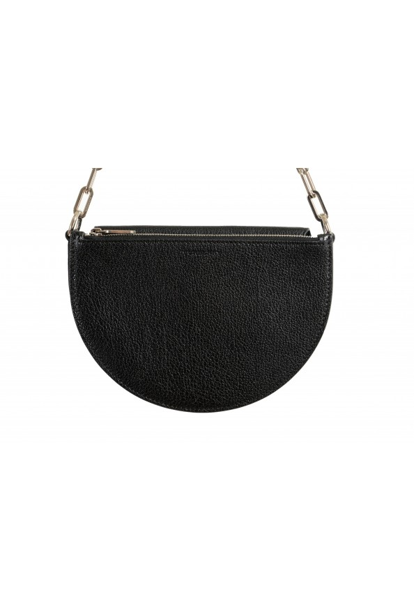 Burberry Women's Black Textured Leather Clutch Shoulder Bag: Picture 2