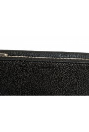 Burberry Women's Black Textured Leather Clutch Shoulder Bag: Picture 3