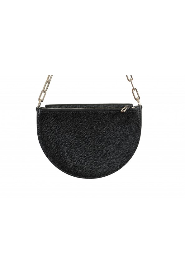 Burberry Women's Black Textured Leather Clutch Shoulder Bag: Picture 5