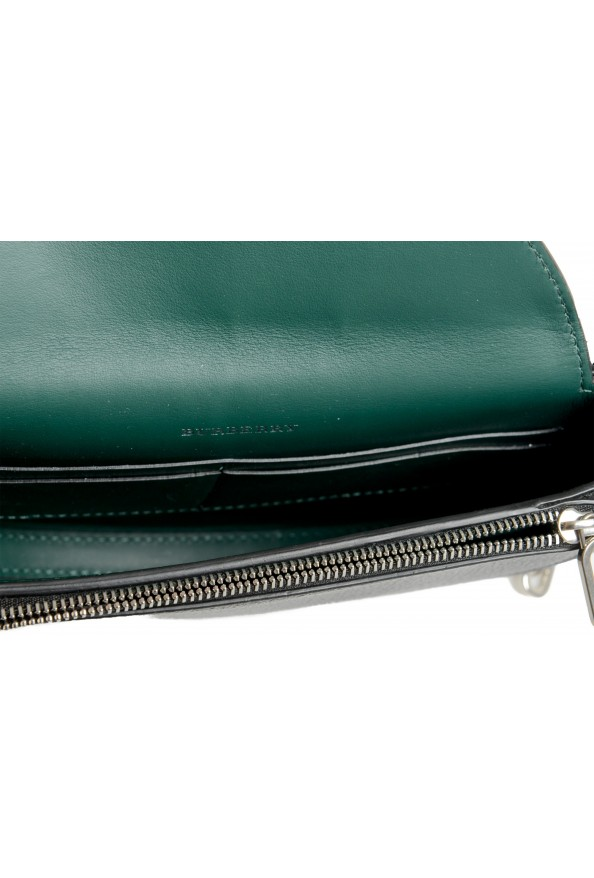 Burberry Women's Black Textured Leather Clutch Shoulder Bag: Picture 6