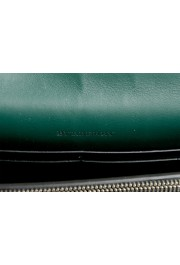 Burberry Women's Black Textured Leather Clutch Shoulder Bag: Picture 7