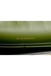 Burberry Women's Silver Textured Leather Clutch Shoulder Bag: Picture 7